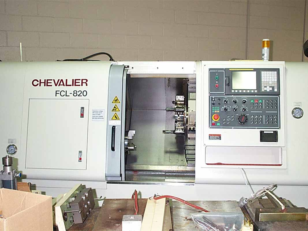 Chevalier FCL-820 CNC Turning Center-1