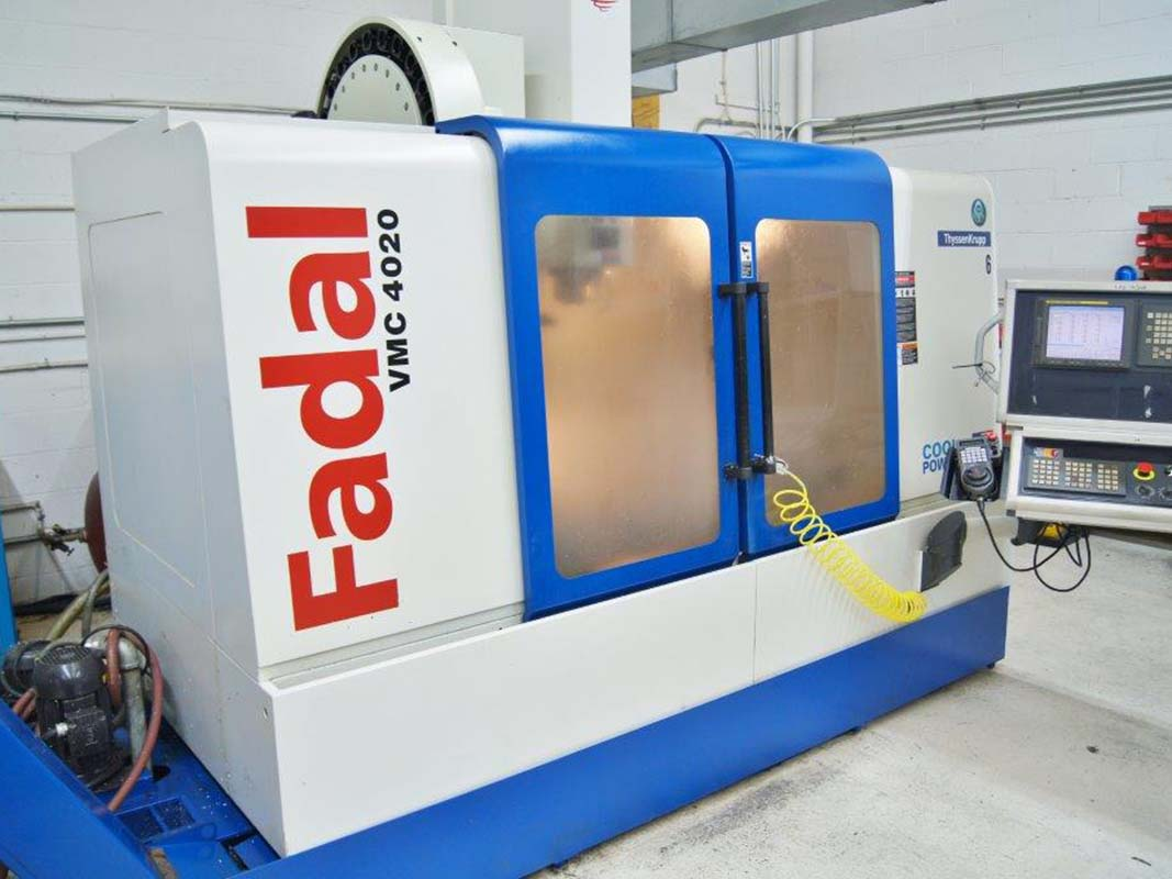 Fadal 4020HT CNC Vertical Machining Center-1