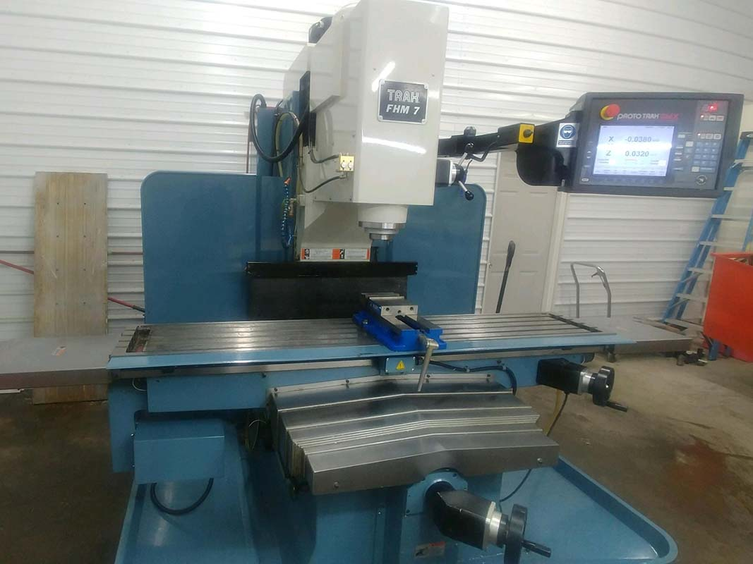 USED Trak FHM 7 Bed Mill-1